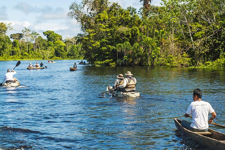 Kayaking Tours in the Amazon Rainforest - Aqua Expeditions