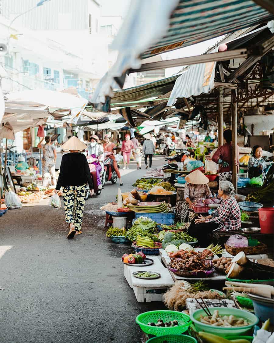 Mekong local market