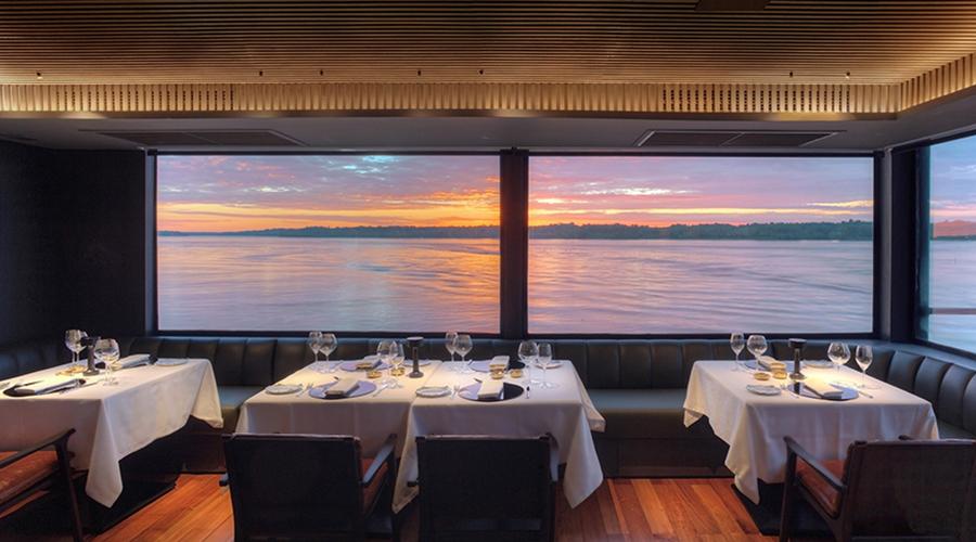 Aqua Nera Dining Room
